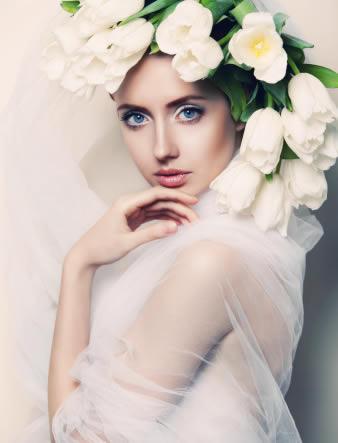 新娘彩妆图片